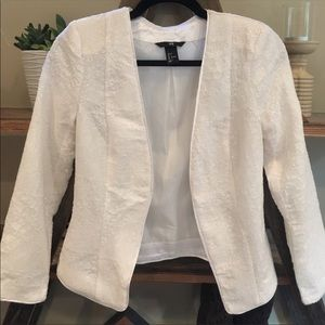 H &M White Jacket